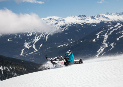 Canadian Wilderness Adventure Backcountry Snowmobiling