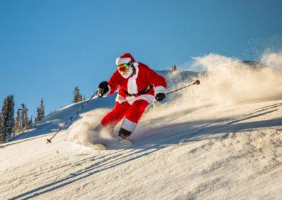 Dress Like Santa Day At Whistler Blackcomb