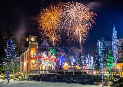 New Year's Fireworks Whistler