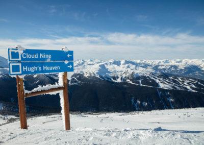 Skiing Hugh's Heaven Whistler Blackcomb VR