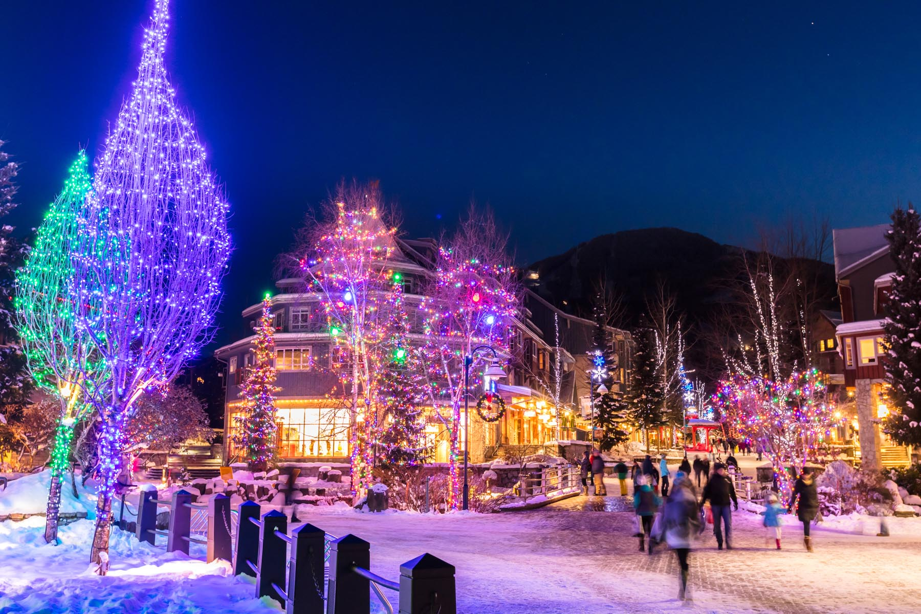 Whistler Christmas Lights - Immersive Explorers